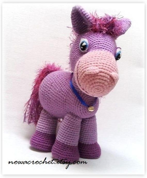 Ponytail Amigurumi : Pony Lilla amigurumi PDF crochet pattern