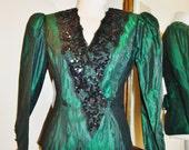 Jessica McClintock beaded blazer/Wedding Attire /Lap front Blazer/Jacket