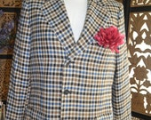 Cashmere Blazer/ Multi-Colored Blazer/Jacket