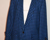 Vintage Givenchy Hounds Tooth Blazer