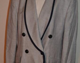 Vintage Christian Dior Blazer/Designer Blazer /Size 16