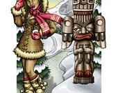 Four Seasons : Winter - 8x10 Giclee Print
