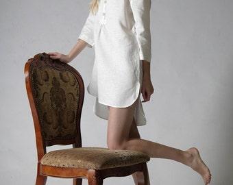 Linen night shirt for woman