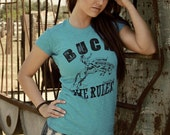 Buck the Rules-Cowgirl Smarts tee