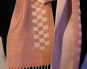 Hand woven Silk Scarf