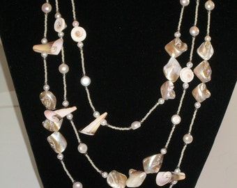 Pearl & Shell Necklace