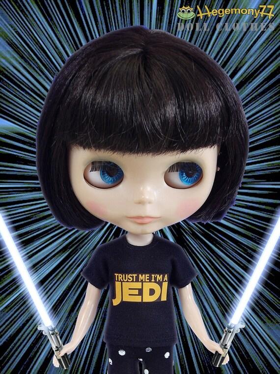 Jedi doll T shirt for: Blythe, Dal, Monster High...