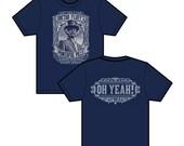Fluffhead Phish inspired lyric tee shirt - silkscreened original art - Trey, Grateful Dead, hippie, 420, lsd