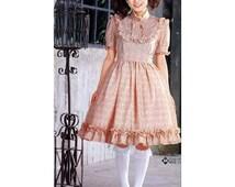 DIY Sweet Lolita Bib Dress Sewing Pattern PDF
