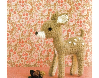 ENGLISH Amigurumi Doe Plush Crochet Pattern PDF