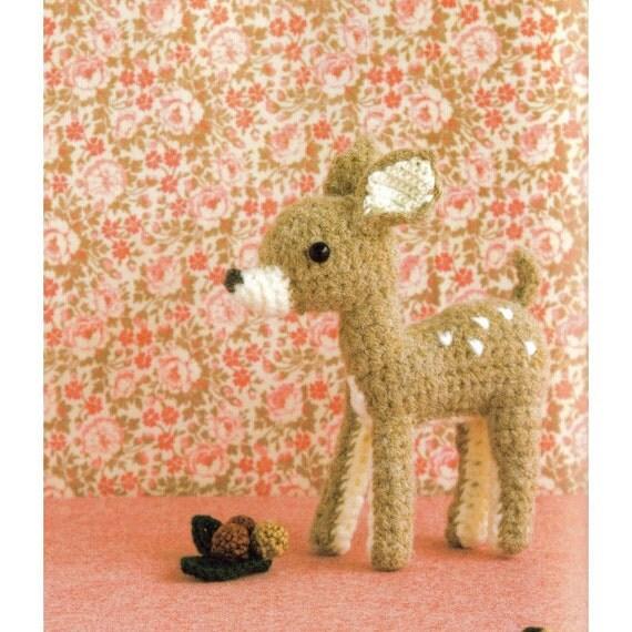 Cute Kawaii Amigurumi Patterns : Amigurumi Doe Plush Crochet Pattern PDF