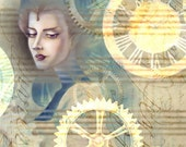 Steampunk Empress Print 13x19