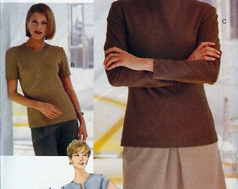 Very Easy Vogue Collectibles UNCUT Pattern 9904 - Misses/Misses Petite Top - 6-10