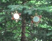 Vintage Reflector Ornaments Christmas Snowflakes