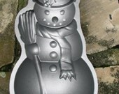 Snowman Cake Pan  Nordic Ware