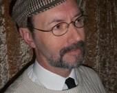 SALE: Tweed Golf/Newsboy Cap