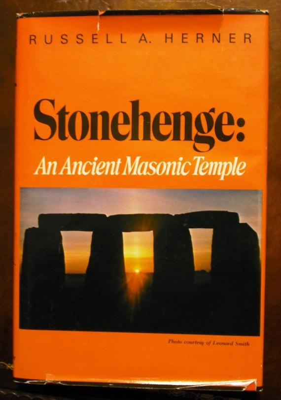 Stonehenge: An Ancient Masonic Temple 1984 (Hardcover)