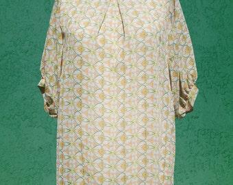 ON SALE Oversized Chiffon Dress - S/M