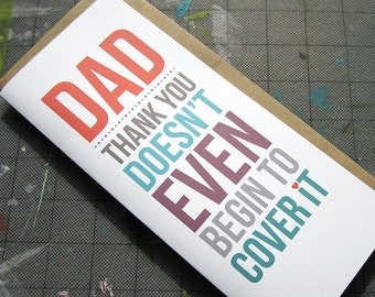 Thanks Dad, Father's Day Card