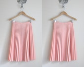 1970s pleated accordian skirt