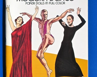 Modern Dance Paper Dolls by Tom Tierney