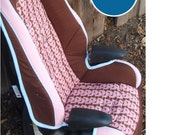 Moving Sale - Toddler Booster Car Seat Recovering Tutorial PDF with FREE Videos