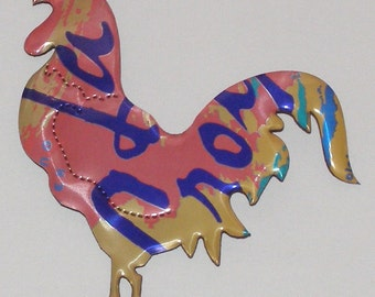 Rooster - Pink Grapefruit LaCroix Sparkling Seltzer Water Soda Can Magnet (Replica)