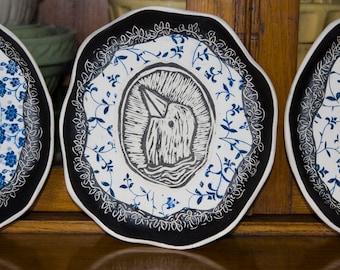 commemorative plate set of four