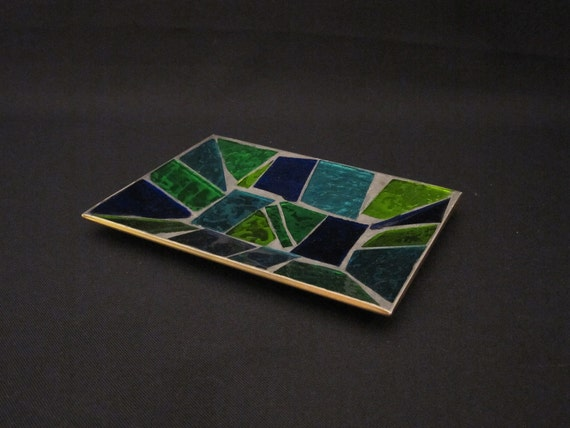 Georges Briard Art Glass Plate