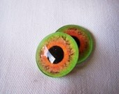 Glass eyes for your geekery jewelry making 20mm glass cabochons
