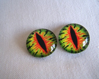 Fantasy eyes dragon eyes 20mm glass eyes