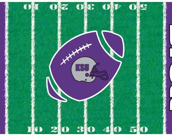 Personalized Football Team Placemats