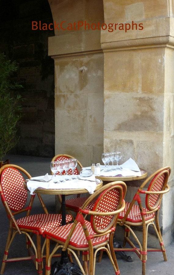 Restaurant Décor Paris : Paris print home kitchen decor cafe photo red