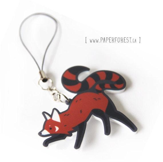 Playful Red Panda Charm - Last One!
