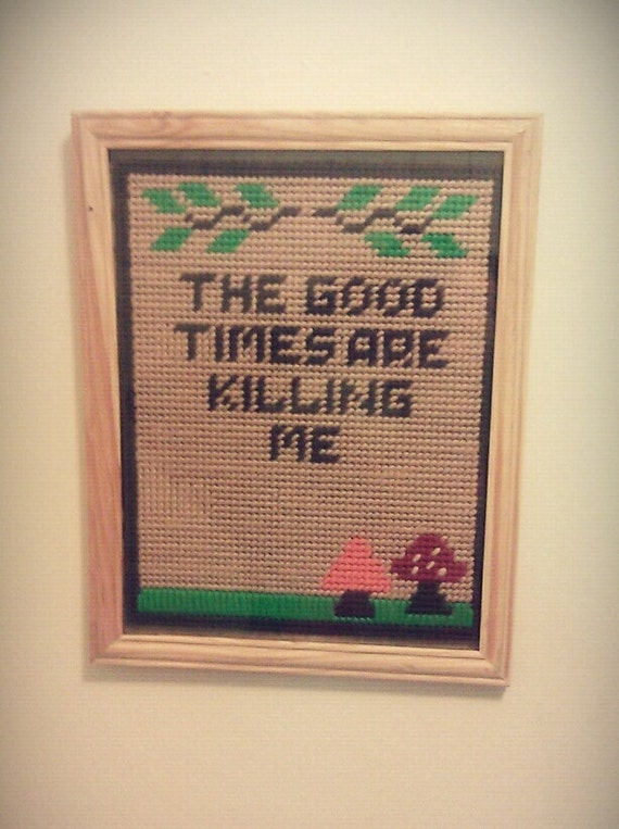 The Good Times -Wall Hanging