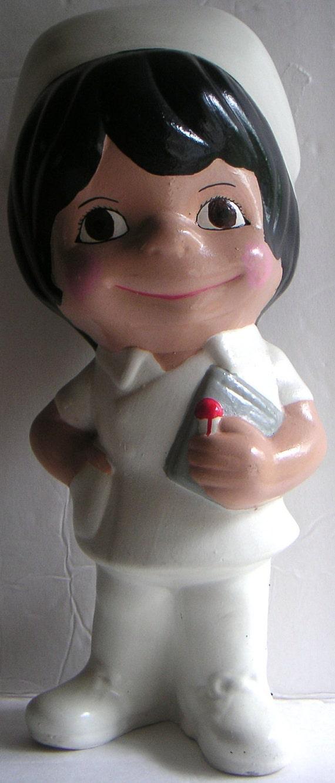 Vintage Nurse Figurine - Caregiver,Health Care,Nurse Betty,Florence Nightingale,Collectible Figurine