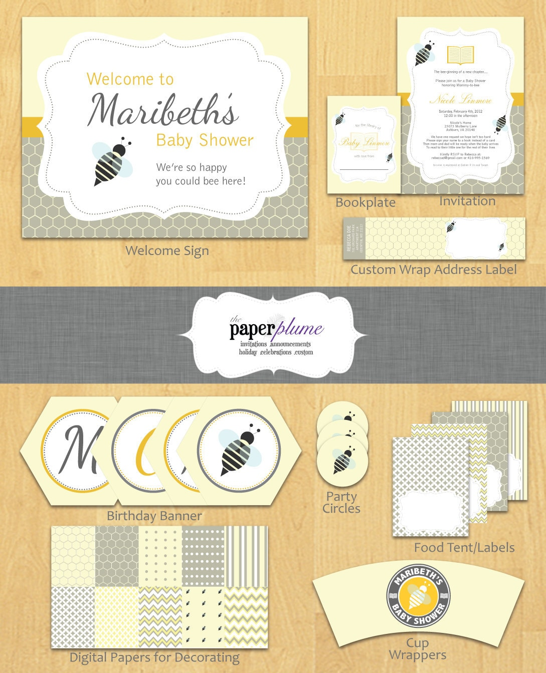 baby shower themes for unknown gender books and bees baby shower