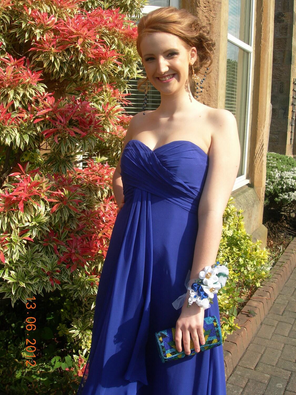 Blue Flower For Prom 17