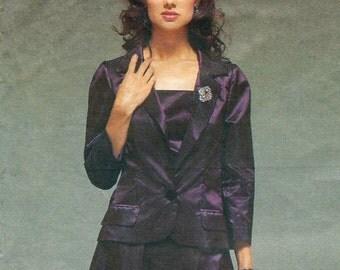 Alber Elbaz for Guy Laroche evening jacket, top & skirt pattern -- Vogue Paris Original 2497 PLUS size