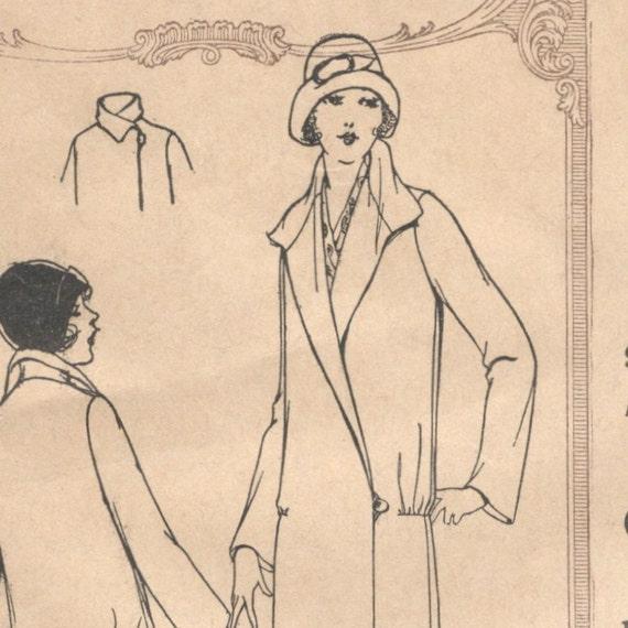 1920s B32 girls' coat pattern -- McCall 4713
