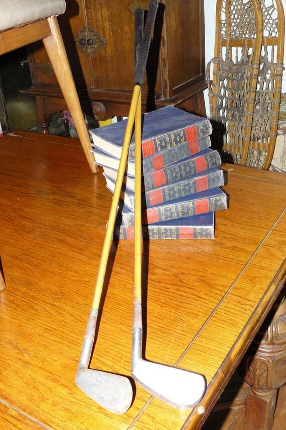 1950's Piece of History~Golf's Transition Irons by Spalding Robert T Jones Jr Tournament Models