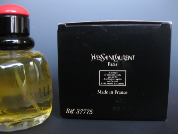 Yves Saint Laurent, Paris, Eau de Toilette, Vaporisateur, 2.5fl. oz., c.1983