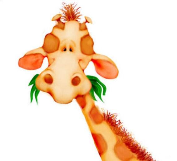 Giraffe   Book Plates - Kids - 8 Bookplates