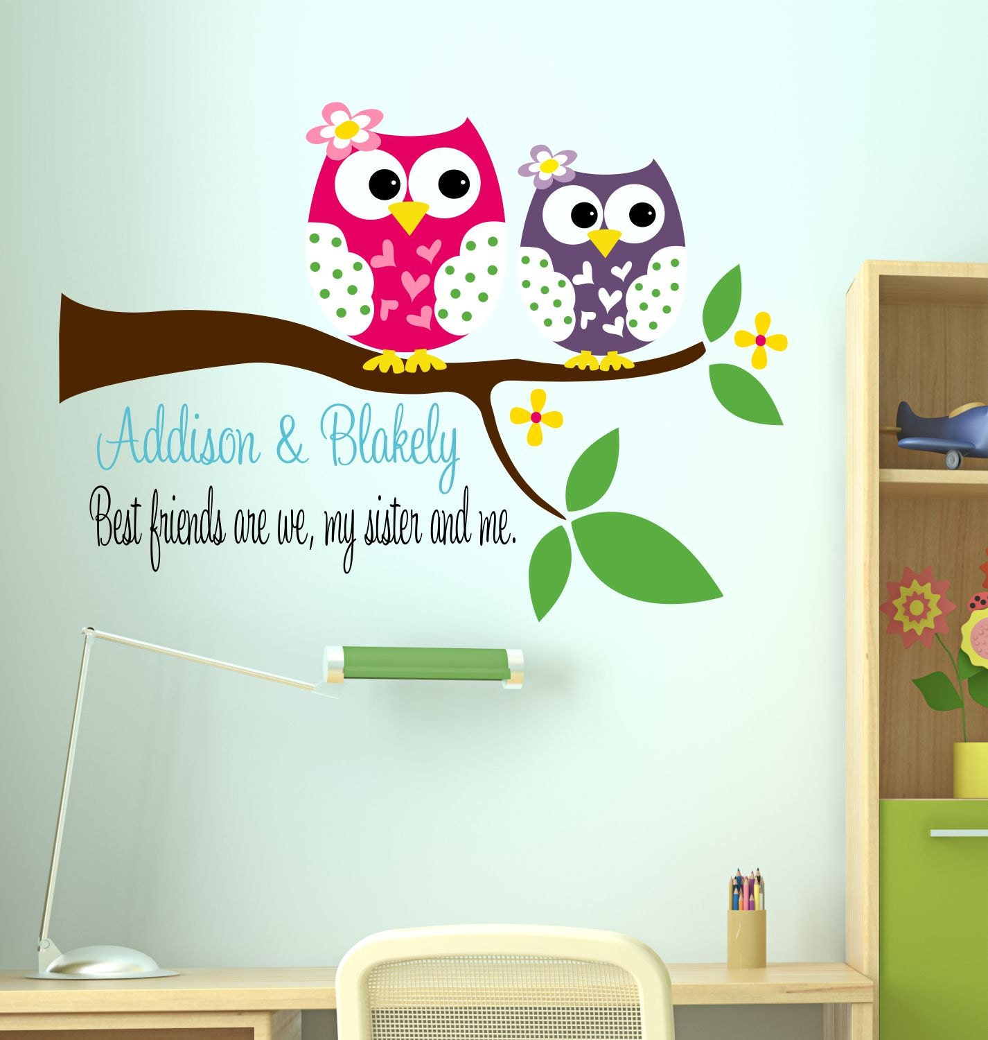 ... Wall Decal - Childrens Decor Owl. 🔎zoom