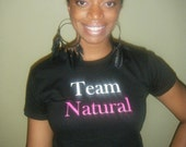 4XL Team Natural Fitted T-Shirt