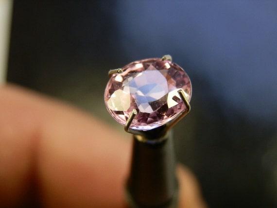 RESERVED. 2.17 carat Pink Sapphire Oval Cut gemstone.