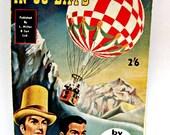Jules Verne Around The World In 80 Days 1960s Vintage Book