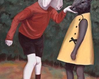 Curiosity and Compassion - Fine Art Print