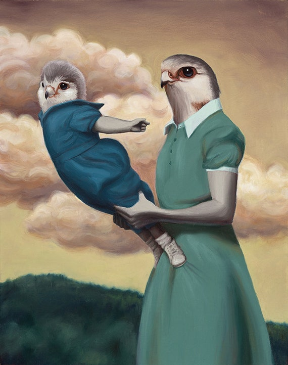 Trust and Flight - Fine Art Print