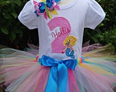 Mermaid Birthday Outfit-CAN BE PERSONALIZED